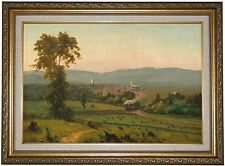 'The Lackawanna Valley Railroad 1856' by George Inness Framed Painting Print