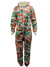Kids US APPAREL Boys Girls Camouflage Onesie Hooded All In One Jumpsuit - B41