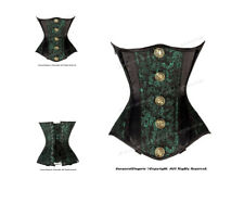 Double Steel Boned Waist Training Brocade Underbust Corset #HC8578(BRO)
