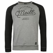 ONeill Mens Crew Neck Sweater Long Sleeve Casual Slim Fit Top