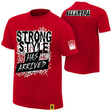 """Official WWE NXT Shinsuke Nakamura """"Strong Style Has Arrived"""" Authentic T-Shirt"""