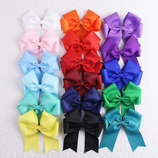 Wholesale 17pcs 4/5/6inch Baby Girl solid butterfly holidays Hair bows 2806ABC Y