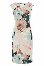 Roman Originals Ladies Pretty Pastel Floral Shift Dress Multi Sizes 10-20