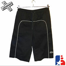 "HUNTER MENS SHORTS BLACK CARGO COMBAT SMALL 30""-34"" WAIST SURF BNWT RRP £43"