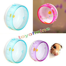 Plastic Silent Hamster Mouse Rat Mice Exercise Running Spinner Wheel Pet Toy New