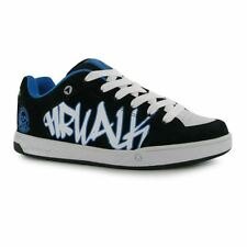 Airwalk Kids Outlaw Skate Shoes Lace Up Sports Casual Trainers Juniors Boys