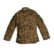 Tru-Spec 1267 Tactical Response Uniform Shirt, Woodland Digital Camo