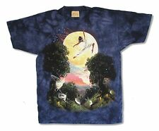 THE MOUNTAIN FAIRY SHIRE NAVY TIE DYE MENS T-SHIRT NEW OFFICIAL
