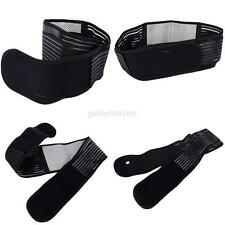 Adjustable Double Pull Lower Back Support Brace Lumbar Breathable Waist Belt Hot