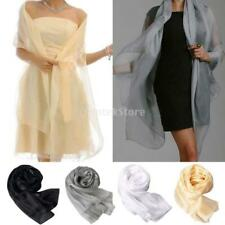 Fashion New Lady Women Long Soft Wrap Lady Shawl Silk Chiffon Scarf Scarves