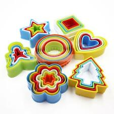 Colorful Cookies Fondant Cake Decorating Sugarcraft Pastry Cutter Mold Tools