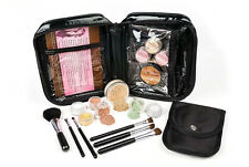 15 pc Mineral Makeup Starter Kit Foundation Set Bare Skin Sheer Powder Cover