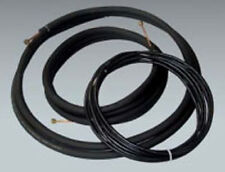 """50 Ft. Ductless Mini Split Line Set with Wire 1/4"""" x 5/8"""" 1/2"""" Insulation"""