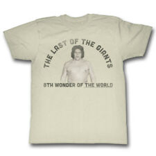 Andre the Giant Last of the Giants 8th Wonder Mens T-shirt