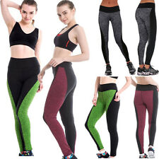 Women Sports Trousers Athletic Apparel Gym Workout Fitness Yoga Leggings Pants