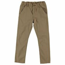 Lee Cooper Kids Infant Boys Chinos Woven Pants Button Zip Fly Waist Fastening