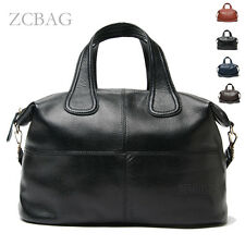 Famous Genuine Leather Large Women Handbag Ladies Tote Shoulder Messenger Bag