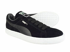 Puma Suede Classic Eco Lodge Black Mens Casual Low-Top Trainers Free UK