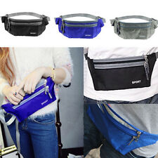 Waterproof Sport Bum Waist Pouch Fanny Pack Running Camping Hiking Belt Zip Bag