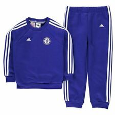 adidas Kids Chelsea Football Club Tracksuit Infant Boys Long Sleeve Top Bottoms