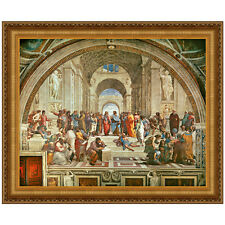 The School of Athens, 1510 by Raphael Sanzio Framed Painting Print