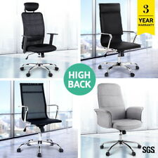 Racing Office Chair Seat Executive Computer Gaming PU Leather Deluxe