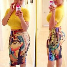Womens Summer Sexy Bandage Crop Top + Bodycon Skirt Dress Two Piece Set