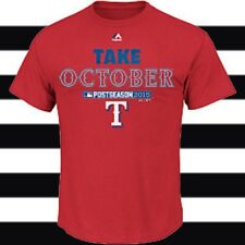 Majestic Youth Texas Rangers 2015 Postseason Authentic Collection T-Shirt Red