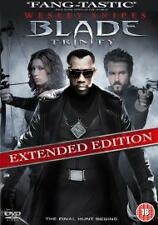 BLADE    TRINITY    EXTENDED VERSION     WESLEY  SNIPES        DVD     CERT  15