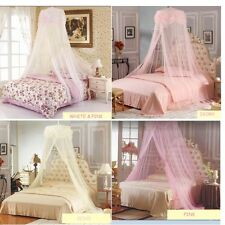 New Princess Lace Mosquito Net Canopy Bites Protect For Twin Queen Size Bed