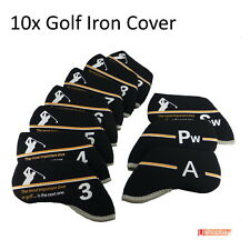 10 x Golf Iron Club Covers Callaway Titleist Taylormade Ping bag Great Shot