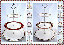 Jingle Bells 3 Tier Cake Stand Hand Decorated in the U.K. Christmas Cake Stand