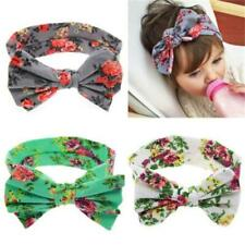 Toddler Girls Baby Kids Big Bow Headband Hairband Stretch Turban Knot Head Wraps