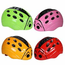 Cute Ladybug Kids Children Bike Cycle Ski Outdoor Helmet Road Mountain Sweat pad