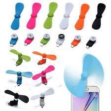 Portable Super Mute Cooler Cooling USB Micro Mini Fan For Samsung Android Phone