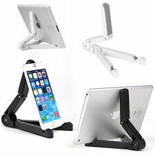 Adjustable Folding Stand Desk Holder Mount For iPhone Galaxy Tablet iPad Air 2