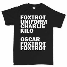 F**K Off Nato Code Funny Offensive Party Mens Womens T shirt Tee Top