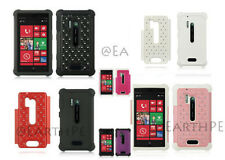 NOKIA LUMIA 928 Hybrid Studded Diamond Lattice  Bling on Skin Cover Case