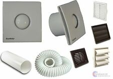 STY100H Timer Humidistat Extractor Bathroom Fan With or Without Kit LOW NOISE