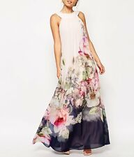 FOONEE Sexy Women Floral Summer Beach BOHO Casual Party Evening Chiffon Dress