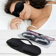 3D Eye Mask Travel Soft Padded Shade Cover Rest Relax Aid Sleeping Blindfold USA