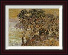 Point Lobos, Monterey Coast by Franz Bischoff Framed Painting Print