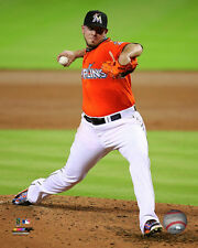 Jose Fernandez Miami Marlins 2015 MLB Action Photo SE060 (Select Size)