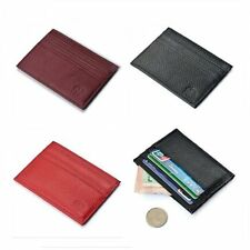 Fashion Men ID Credit Card Leather Wallet Coin Purse Slim Short Card Holder Gift