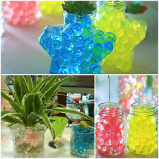 Jelly Crystal Mud 5/10/20/50 Bags Soil Water Beads Flower Plant Magic Ball Wed