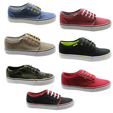 Vans Off The Wall 106 Vulcanized Milton Atwood Unisex Lace Up Canvas Trainers