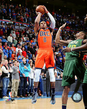 Russell Westbrook OKC Thunder 2015-2016 NBA Action Photo SO250 (Select Size)