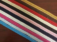 "5/8"" French Gimp Braid Trim Ribbon Scrapbooking Wedding Decoration 12 Colors"