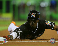 Dee Gordon Miami Marlins 2015 MLB Action Photo SQ041 (Select Size)