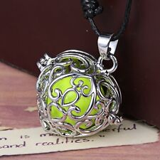 Chime Sounds Cage Ball Harmony Pendant Silver Pregnancy Angel Necklace Jewelry